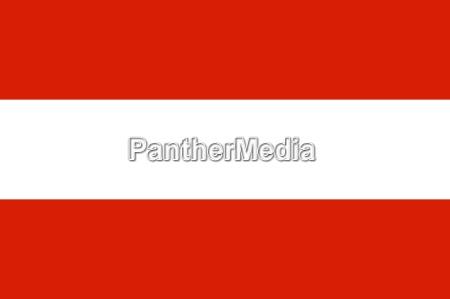 a bandeira nacional da Austria
