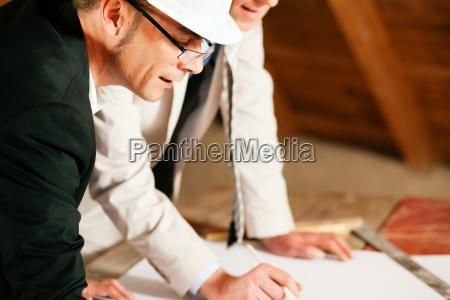 o arquiteto e o coordenador civil