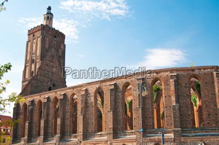 igreja catedral ruina classico local de