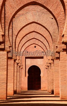 monumento marrocos mesquita torbogen kulturstaette
