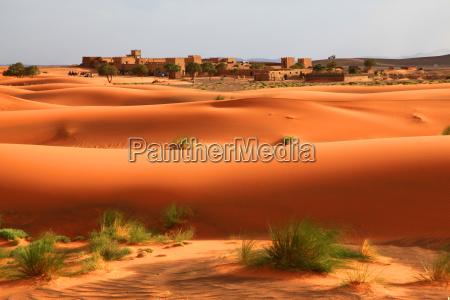 deserto duna marrocos areias areia castelo