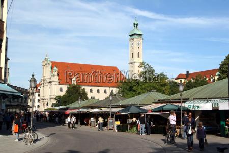 igreja do espirito santo viktualienmarkt 3