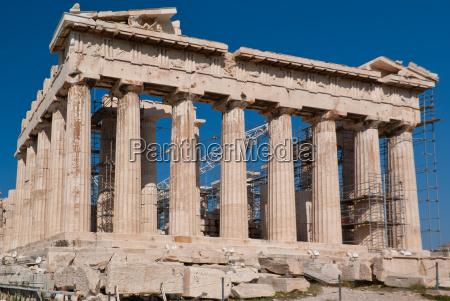 templo grecia ruina atenas acropole atena