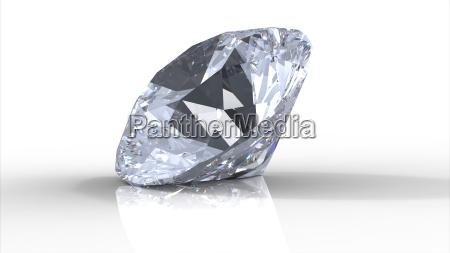 diamante com sombras
