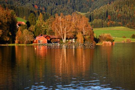 reflexao noite sol agua doce lago