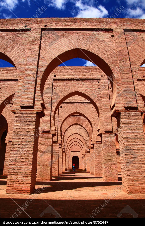 mesquita, antiga, em, marrocos - 3752447