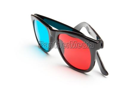 oculos plastico filme filmes estereoscopico