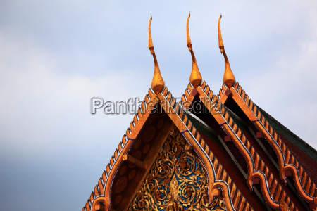 templo buda tailandia pagode bangkok ornamento