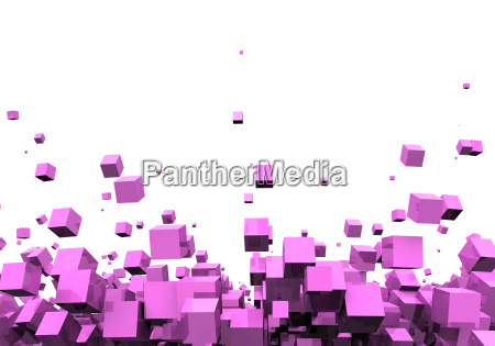 3d fundo pink disco particulas
