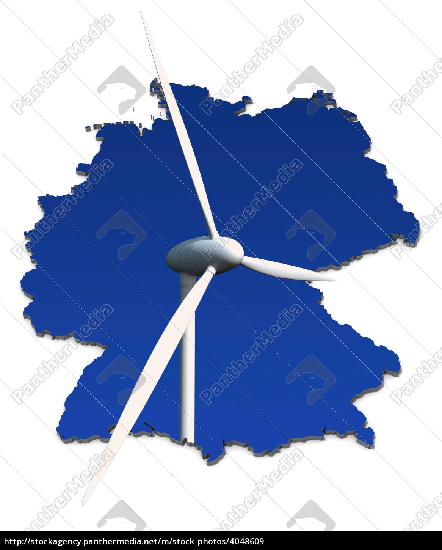 turbina, de, vento, na, frente, do - 4048609