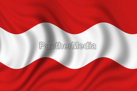 bandeira da austria
