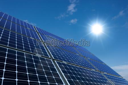 poder eco celula solar energia solar