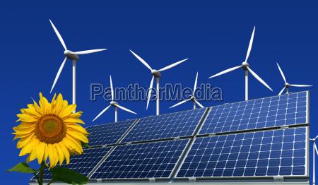 modulos solares monocristalinos turbinas eolicas e