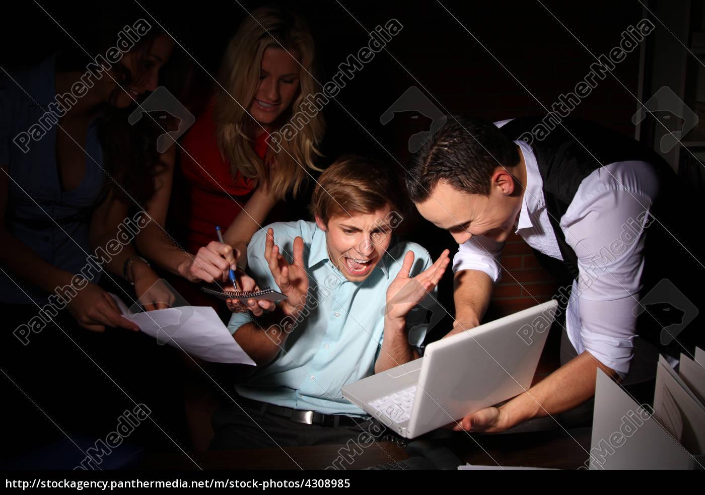 mulher, telefone, escritorio, caderno, computadores, computador - 4308985