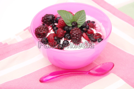frutas fruta coalhada festa saudavel iogurte