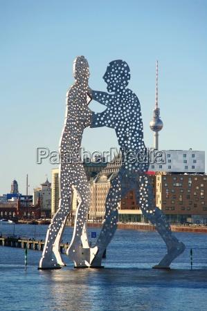 escultura berlim comunidade grupo