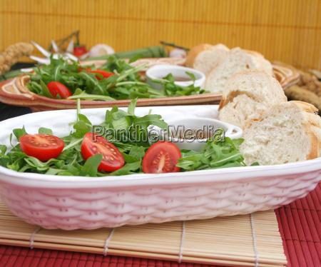 alimento vegetal tomate salada