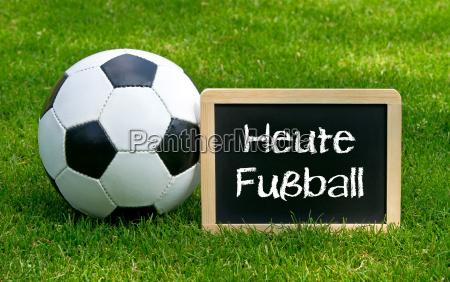 hoje futebol conceito esportes e