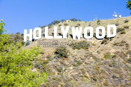 hollywood sign los angeles california eua