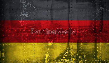 grunge bandeira alema
