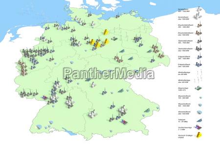 locais usinas de energia na alemanha