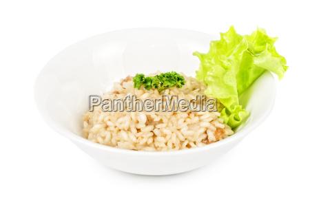 restaurante alimento liberado closeup verde concha