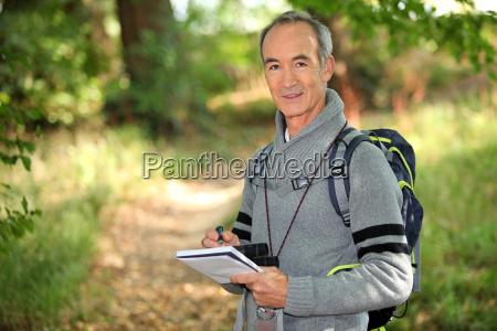 hiking homem
