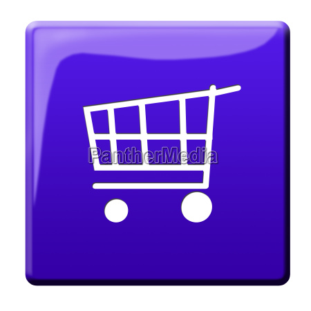 carrinho simbolismo compra pictograma icone on