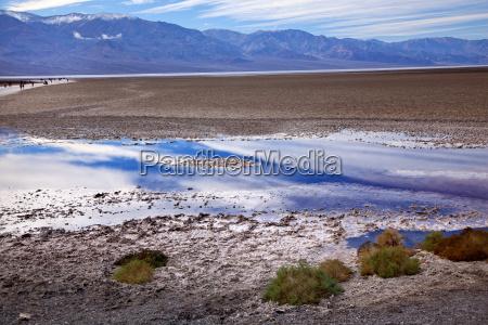 montanhas de badwater panamint parque nacional