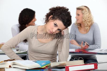 secretaria adulto lousa classe internato adultos