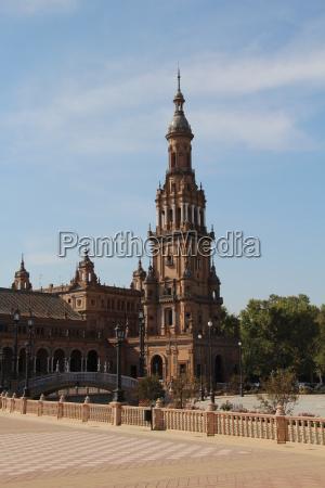 torre europa espanha quadrado andaluzia sevilha