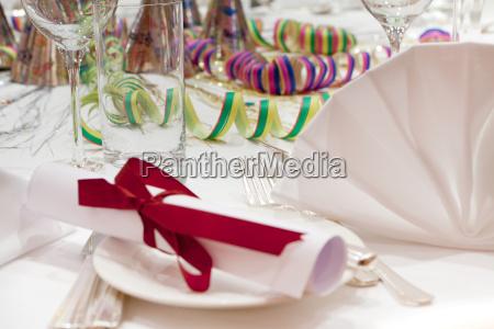 partido decoracao de mesa