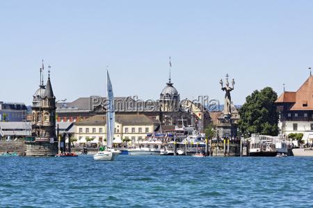 cidade estatua porto lago de constanca