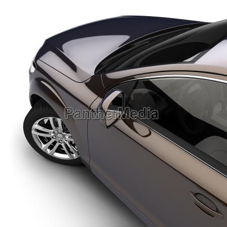 carro com uma pintura two tone