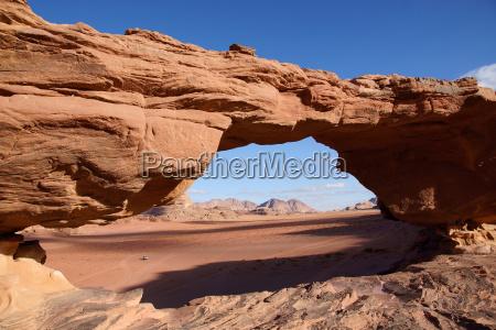pedra deserto ponte abobada jordania erosao