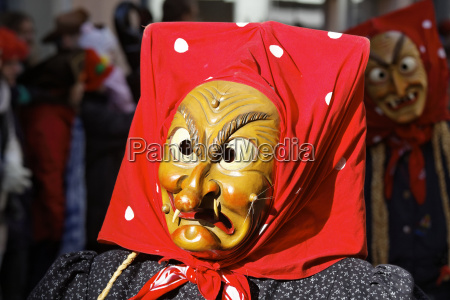 carnaval traje hexen mascara bruxa