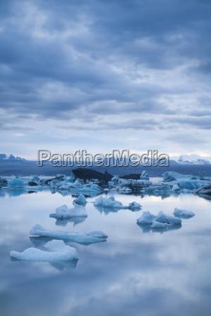 geleira na islandia gelo