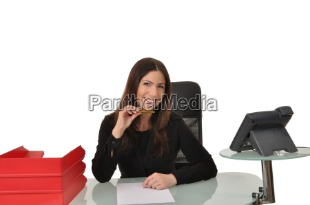 mulher escritorio contratado funcionarios colaborador acordo