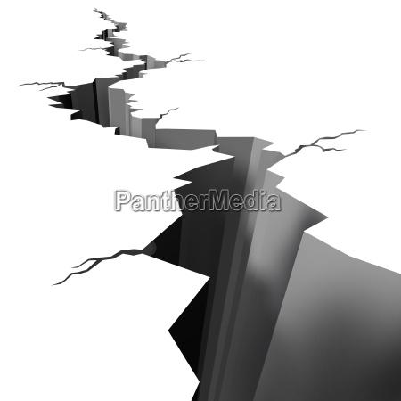 terremoto piso terreo rachado