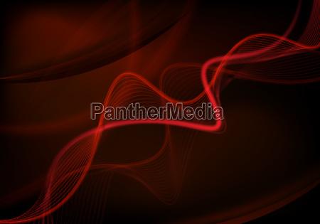 fundo futurista vermelho
