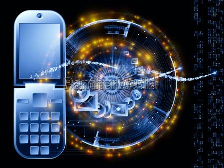 sinal telefone azul calculo projeto grafico