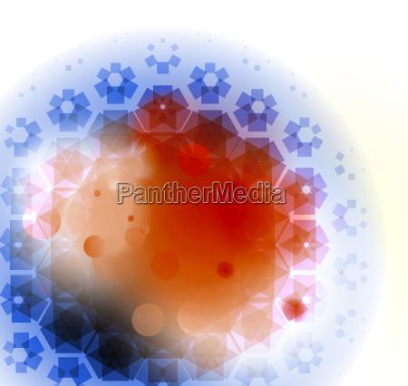 celula de particulas nano grafico
