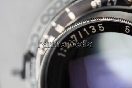 lente de camera antiga