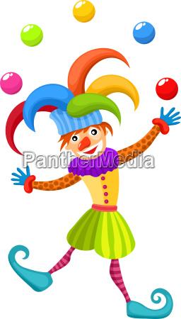 palhaco traje circo anel diversao alegria