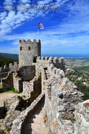 castelo dos mouros sintra marco de