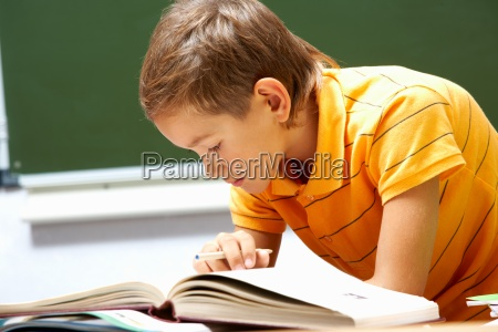 reading lad