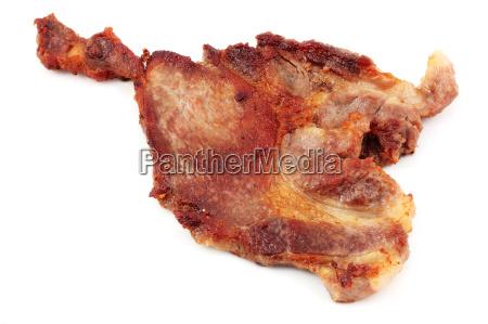 alimento liberado isolado refeicao grelhado barrado