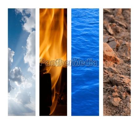 os quatro elementos
