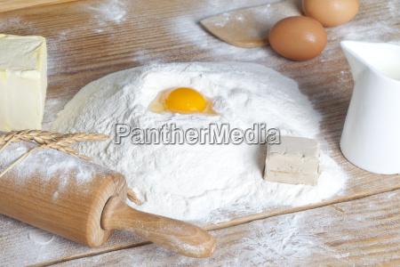 ingredientes do cozimento
