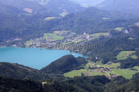 montanhas verde cupula austria olhar vista